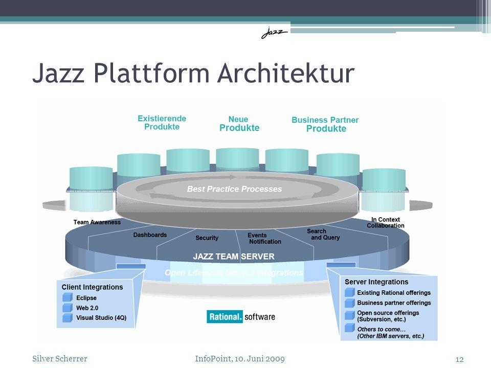 Jazz Plattform Architektur 12 Silver Scherrer InfoPoint, 10. Juni 2009