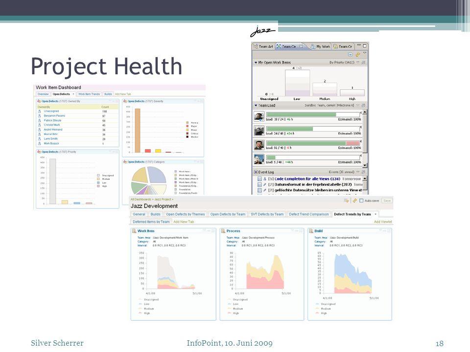Project Health 18 Silver Scherrer InfoPoint, 10. Juni 2009