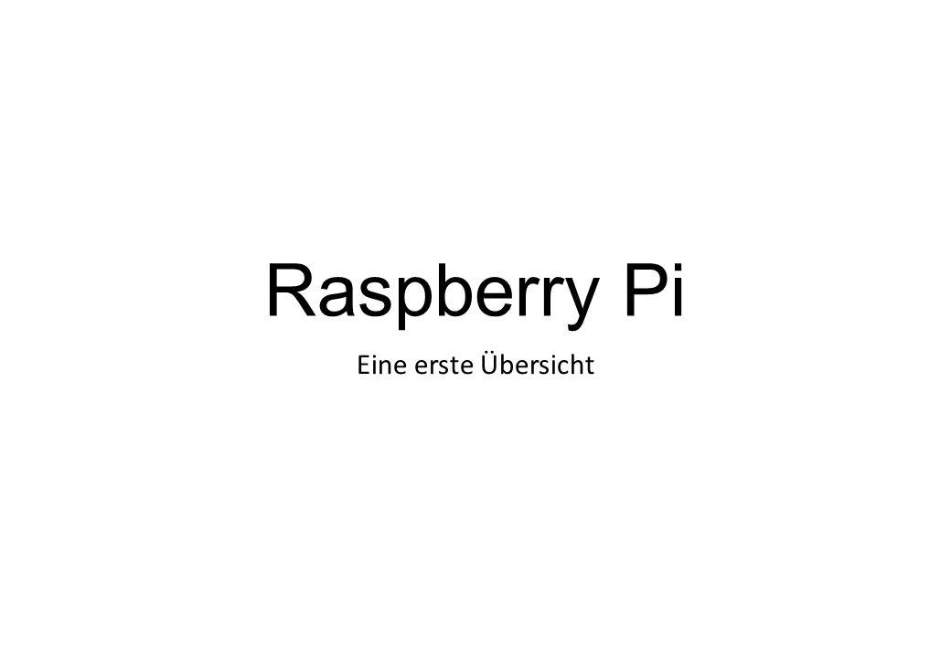 Hardware Raspberry Pi B