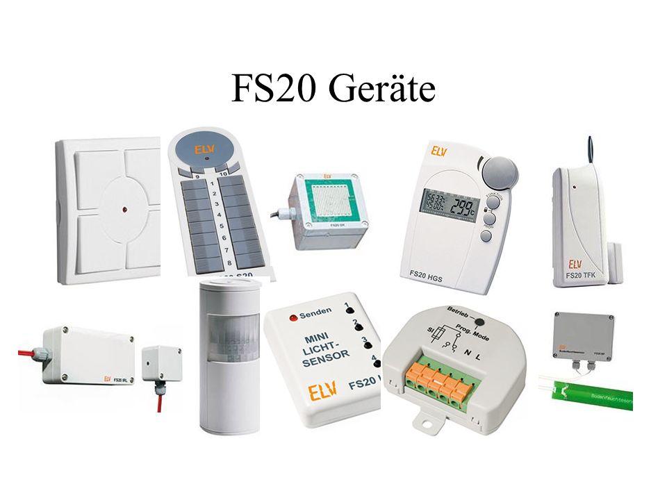 FS20 Geräte