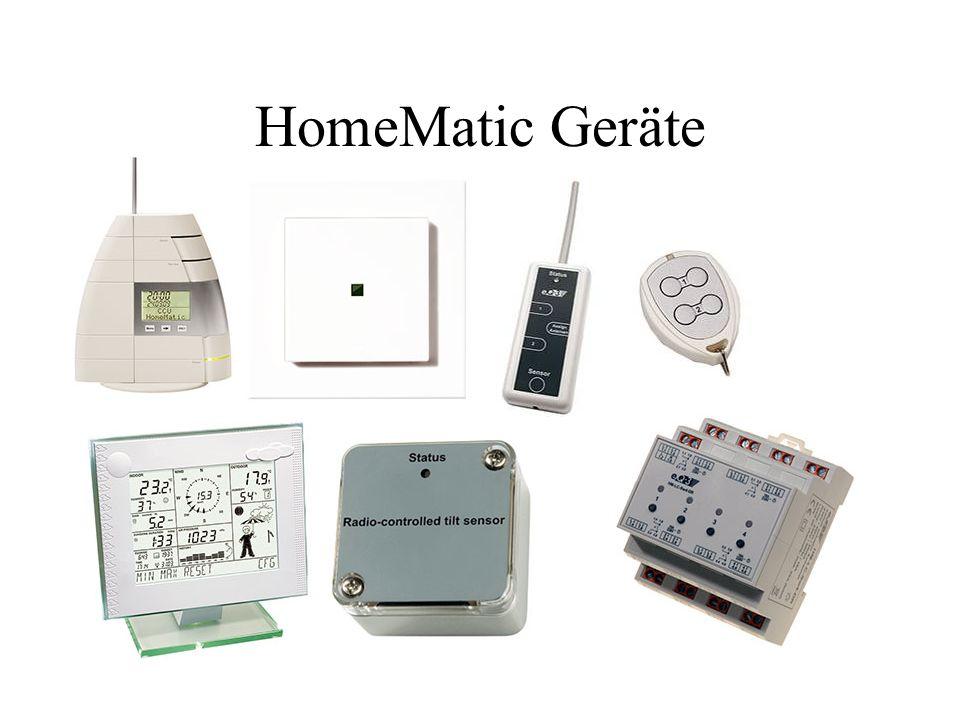 HomeMatic Geräte