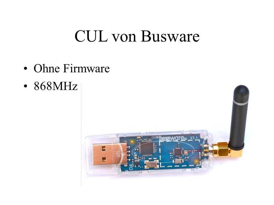 CUL von Busware Ohne Firmware 868MHz