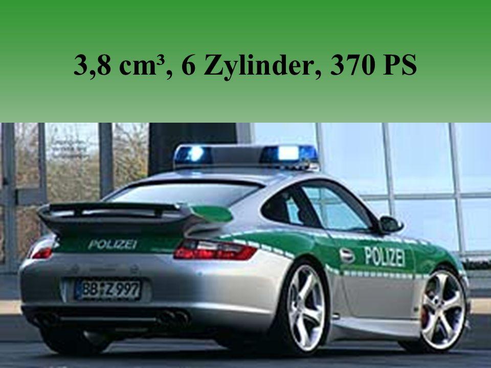 3,8 cm³, 6 Zylinder, 370 PS