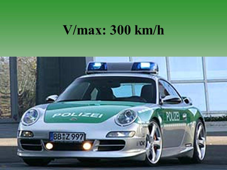 V/max: 300 km/h