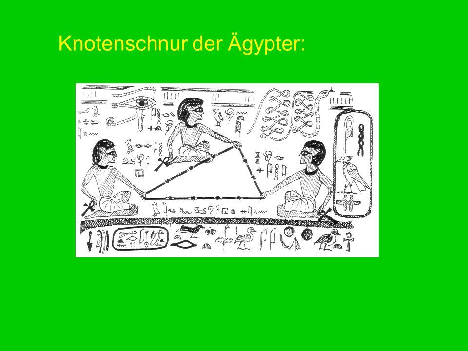 Knotenschnur der Ägypter: