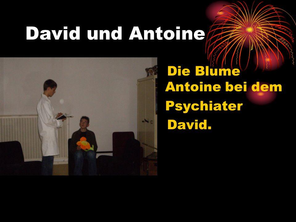David und Antoine Die Blume Antoine bei dem Psychiater David.