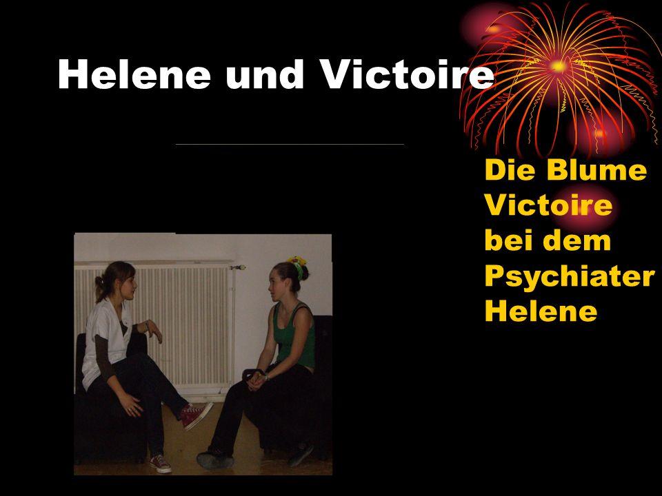 Helene und Victoire Die Blume Victoire bei dem Psychiater Helene