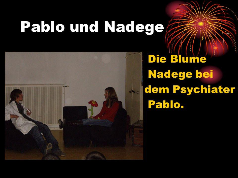 Pablo und Nadege Die Blume Nadege bei dem Psychiater Pablo.