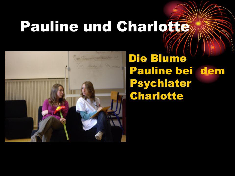 Pauline und Charlotte Die Blume Pauline bei dem Psychiater Charlotte
