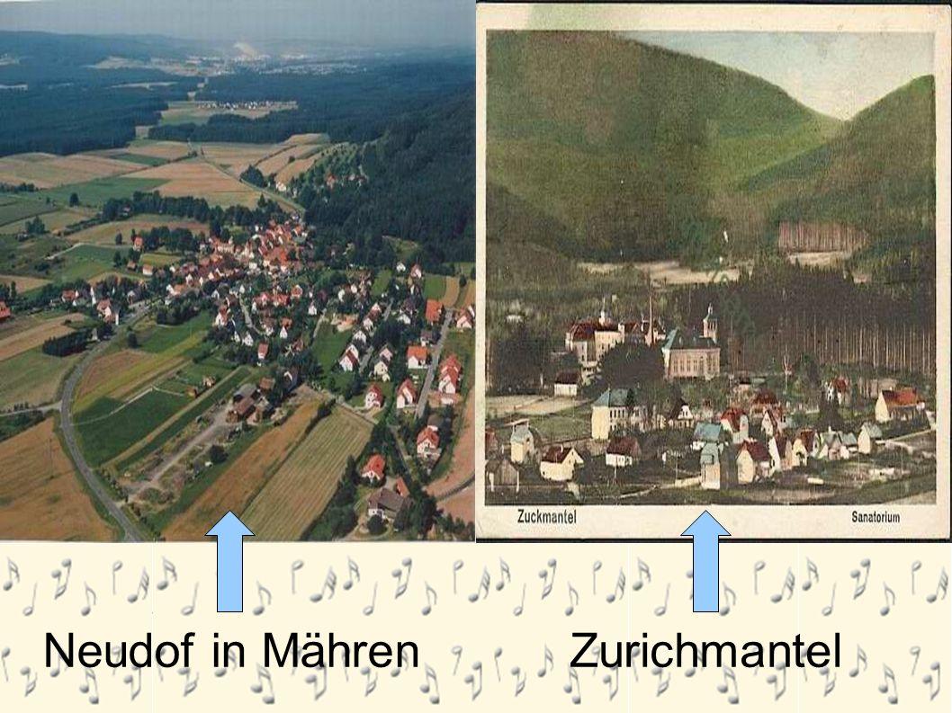 Neudorf in Mähren Neudof in MährenZurichmantel