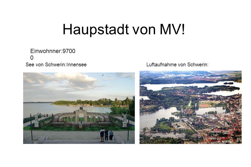See von Schwerin:InnenseeLuftaufnahme von Schwerin: Einwohnner:9700 0 Haupstadt von MV!