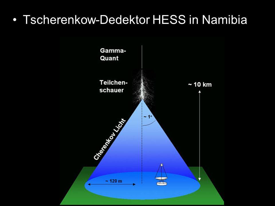 Tscherenkow-Dedektor HESS in Namibia