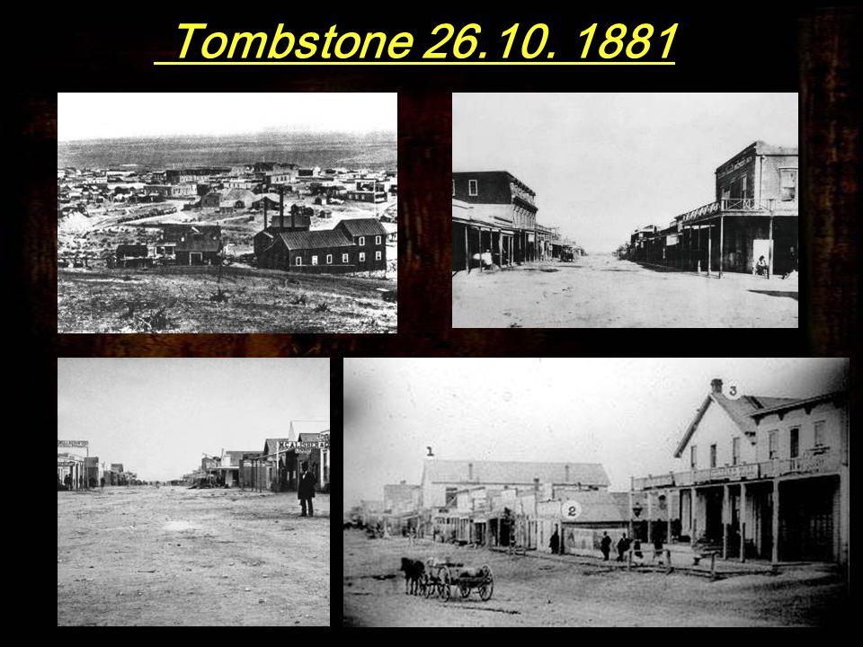 Am Nachmittag des 26. Oktober 1881 krachten und knallten bei Montgomery´s O.K.