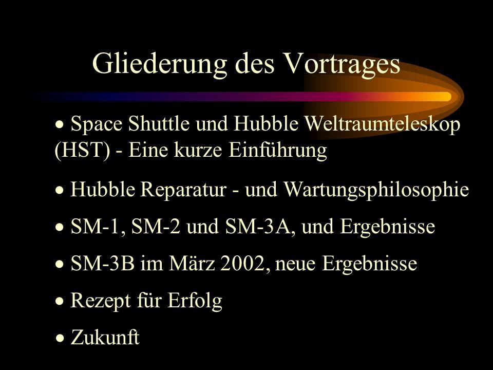 Eingehende Begegnungen mit dem Hubble Weltraumteleskop präsentiert von Claude Nicollier 33. Jahrestagung des IFR Garmisch-Partenkirchen, 5 Juli 2002