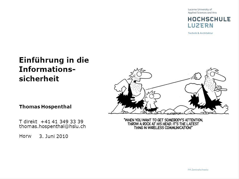 Horw Thomas Hospenthal T direkt +41 41 349 33 39 thomas.hospenthal@hslu.ch 3.