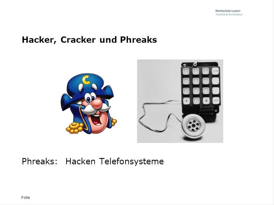 Folie Warum hacken.