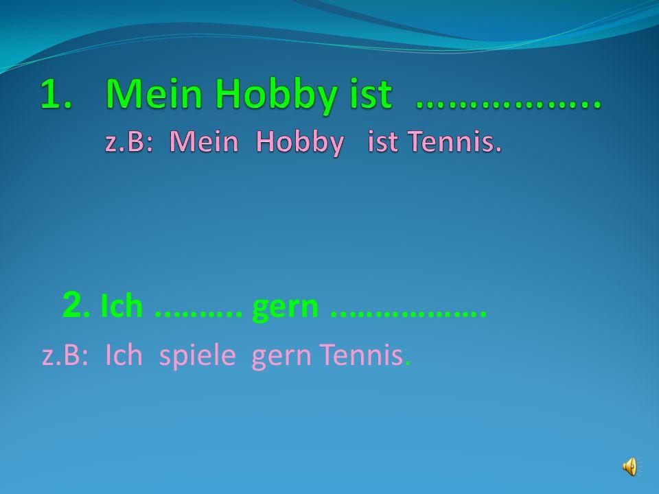 Was ist dein Hobby ?