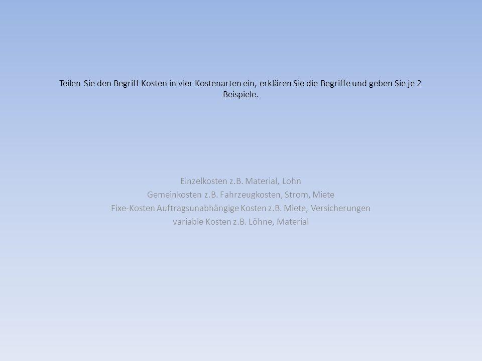 Malermeister L ist Inhaber einer GmbH.a) Welcher Ertragssteuer unterliegt der Betrieb.