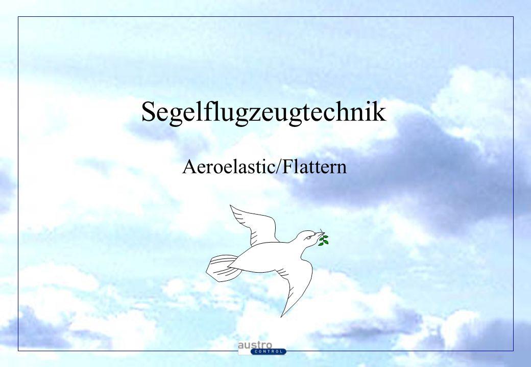 Segelflugzeugtechnik Aeroelastic/Flattern