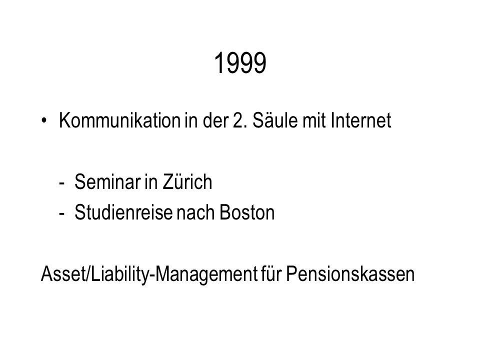 1999 Kommunikation in der 2.
