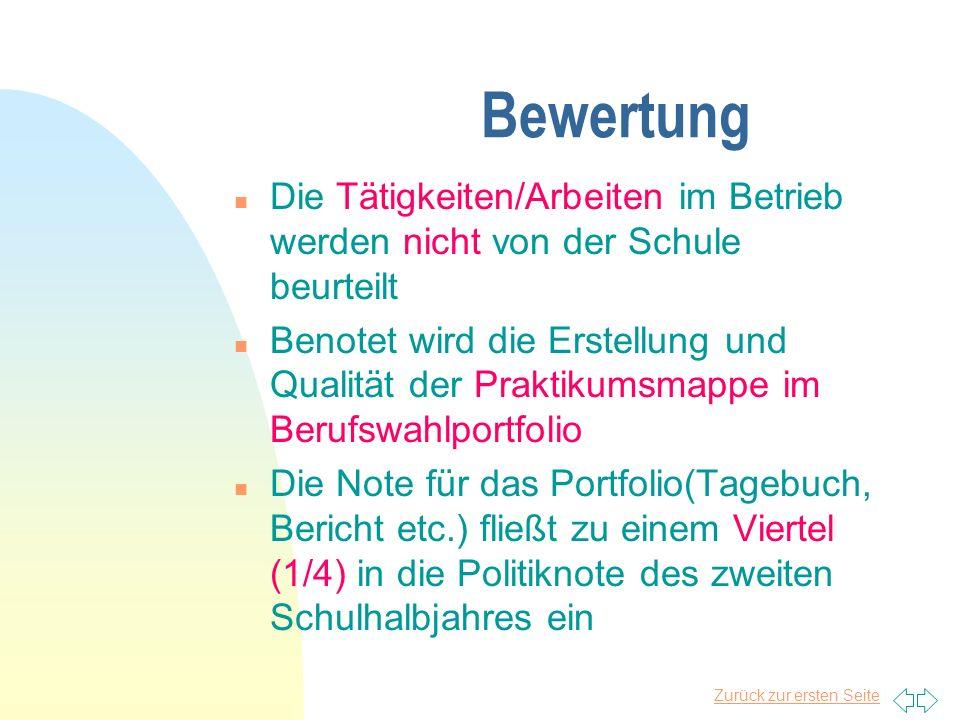 Zurück zur ersten Seite Wir gestatten nicht oder eingeschränkt: n Filialbetriebe des Einzelhandels ohne Ausbildung n Heeresflieger der Bundeswehr in B