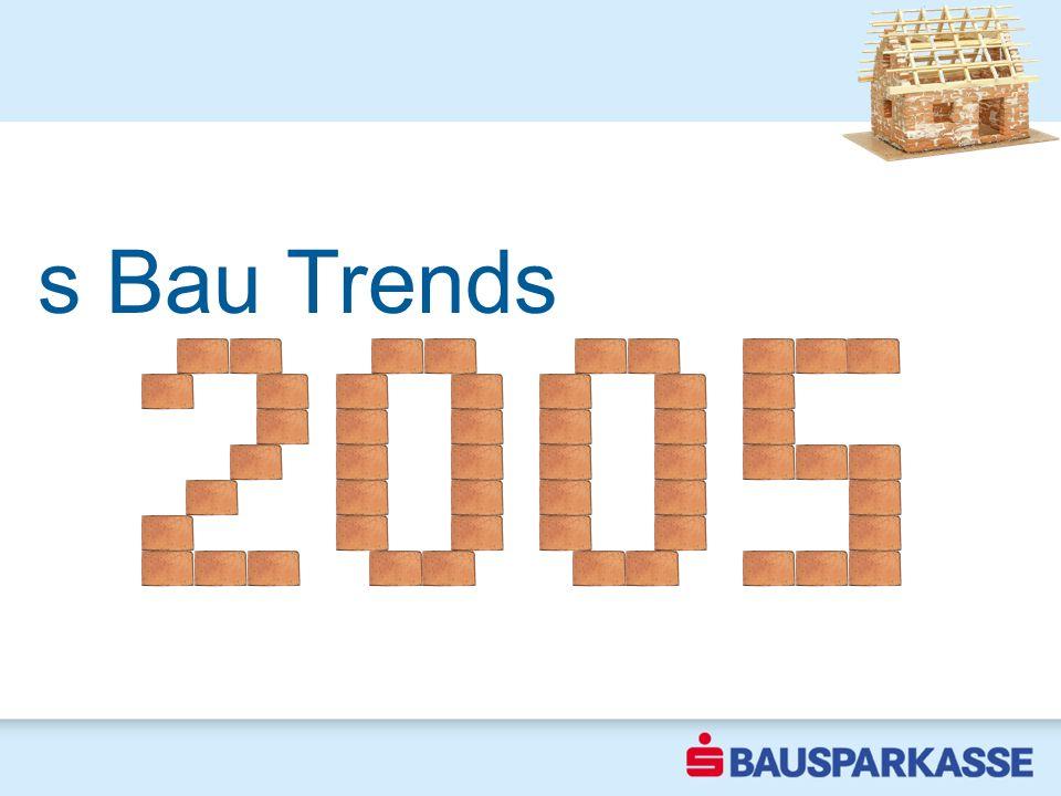 Erste Trends 2004 s Bau Trends
