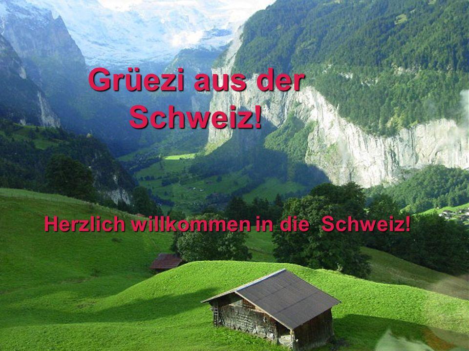 Der fertige Text Die Schweiz ist ein Gebirgsland.Die Schweiz ist ein Gebirgsland.