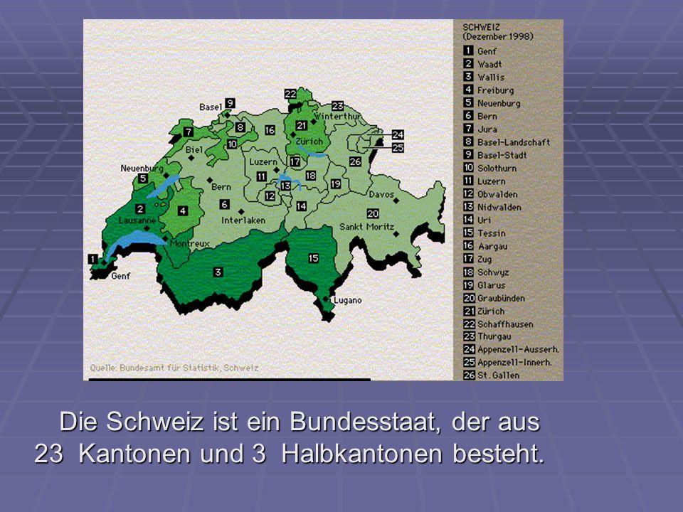 Am ersten August feiert die Schweiz ihren Nationalfeiertag.