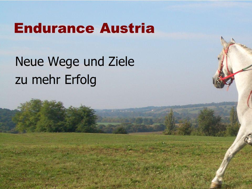 Endurance Austria Neue Wege und Ziele zu mehr Erfolg