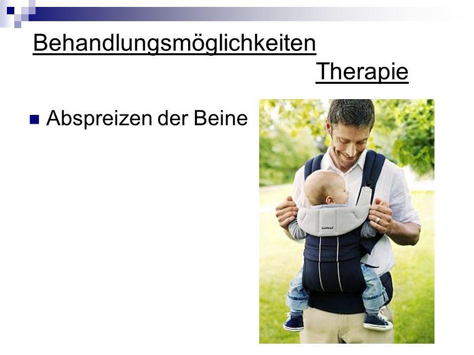 Behandlungsmöglichkeiten Therapie Abspreizen der Beine