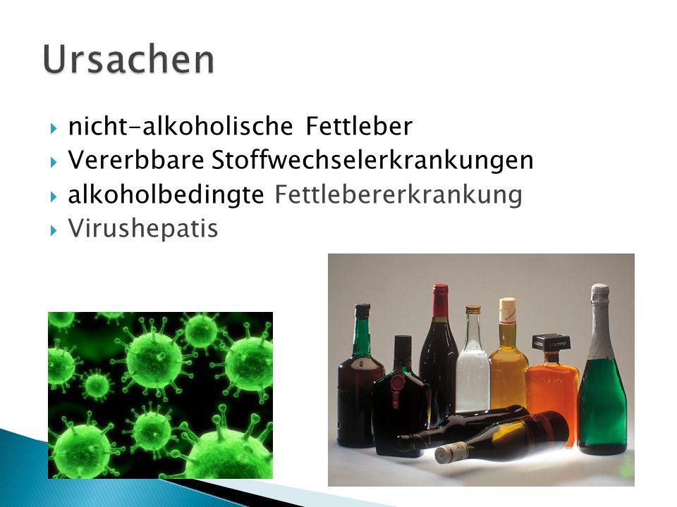 kleinknotiger Typ – bei alkoholmissbrauch großknotiger Typ - bei einer Virushepatis Mischtyp, der sowohl klein- als auch großknotige Anteile aufweist
