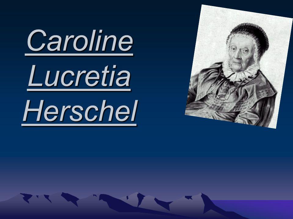 Lebenslauf Über Caroline Ihre Familie Ausbildung Wissenschaftliche Leistungen