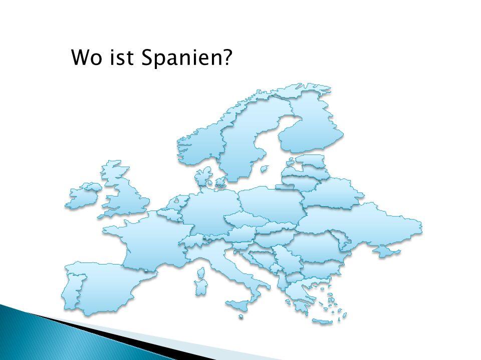 Wo ist Spanien?