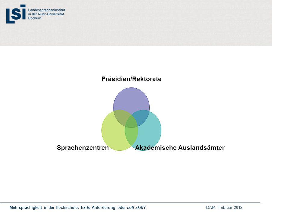 Internationalisierung der Hochschulen 1.
