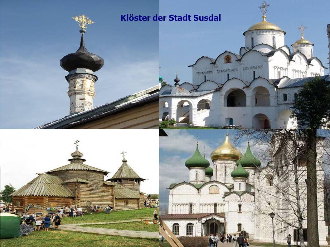 Klöster der Stadt Susdal
