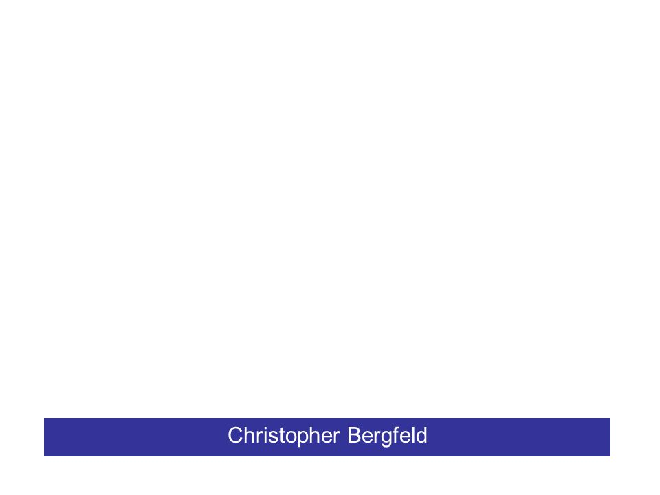 Christopher Bergfeld