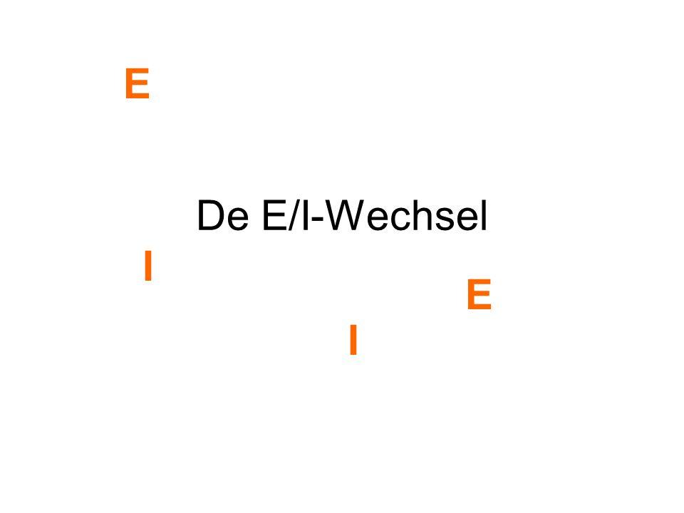 De E/I-Wechsel E I E I