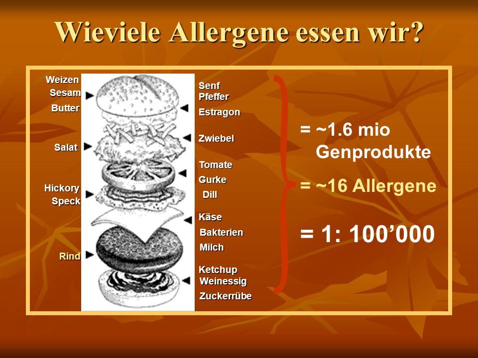 Essen macht krank .Welche Lebensmittel . Nahrungsmittelallergien sind relativ selten: ca.