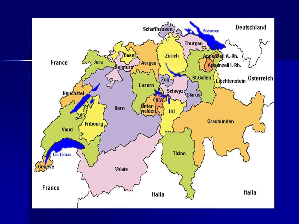 Natürliche Gegebenheiten Gebirge: 1, Alpen (60% der Gesamtfläche) -der höchste Gipfel heißt Dufourspitze des -der höchste Gipfel heißt Dufourspitze des Monte Rosa Monte Rosa -Voralpen (Gipfel Pilatus und Rigi) -Voralpen (Gipfel Pilatus und Rigi) -Alpenpässe (hier verlaufen Tunnels) -Alpenpässe (hier verlaufen Tunnels)