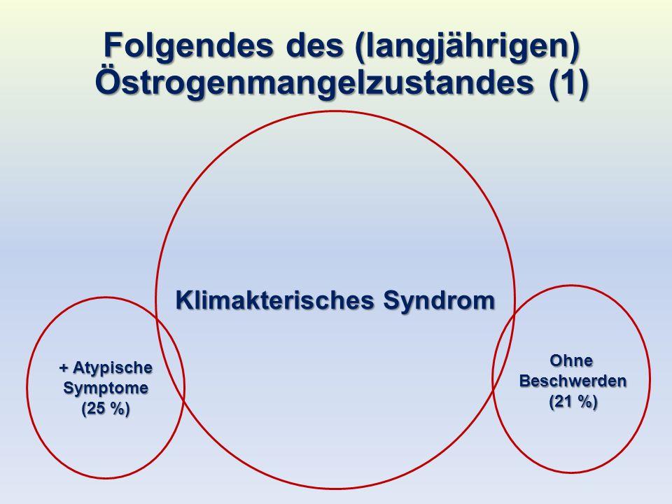 Folgen des langjährigen Oestrogenmangelzustandes (2)