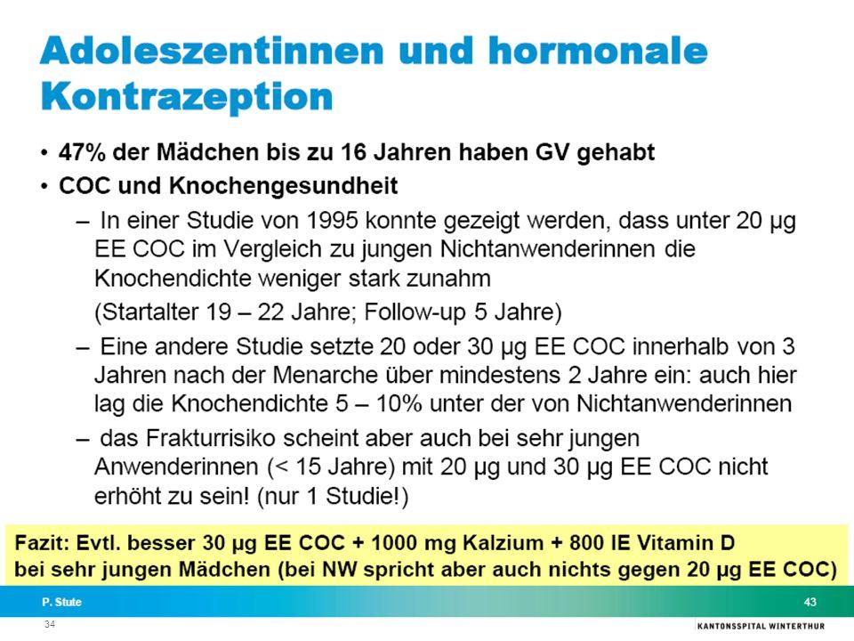 35 Hormonelle Kontrazeption nach malignen Erkrankungen Th. Römer