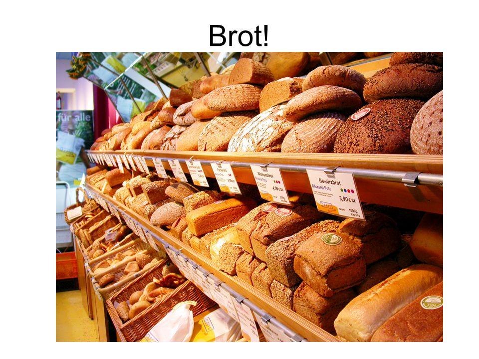 Brot! In der Bäckerei