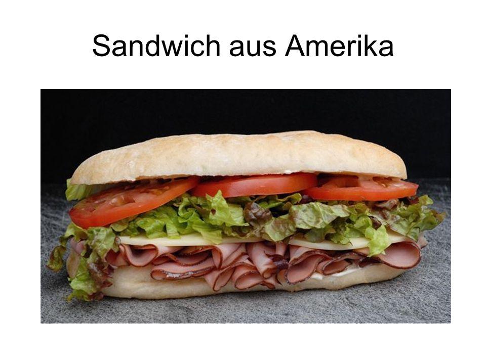 Sandwich aus Amerika