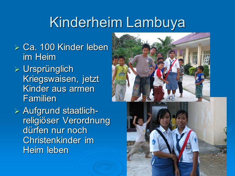 Kinderheim Lambuya Ca.