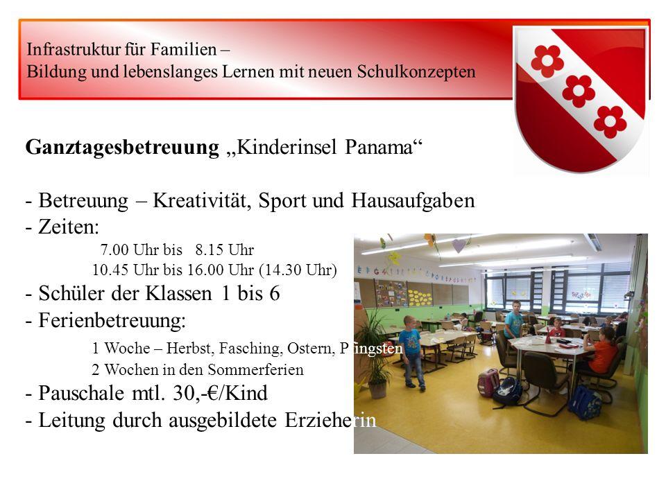 Kindergärten in Mulfingen Betreuungszeiten: zwischen 7.00 Uhr und 16.30 Uhr Regelgruppe Gruppe mit verlängerten Öffnungszeiten Ganztagesgruppe Mittagessen Aufnahme von 2-Jährigen möglich Grundbeitrag mtl.