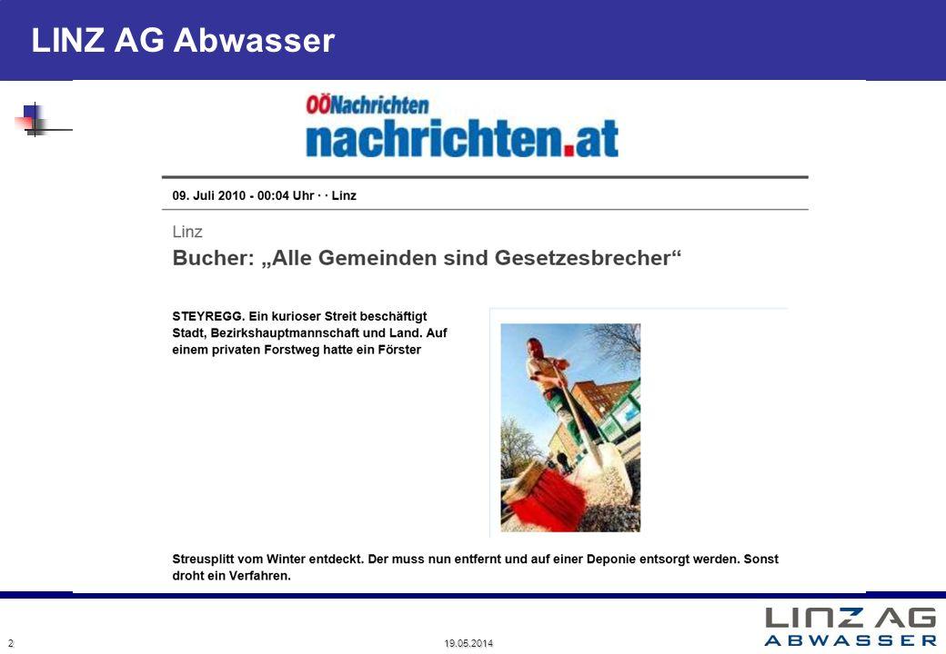 LINZ AG Abwasser 19.05.2014 2
