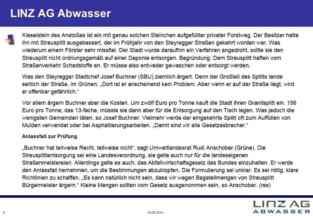 LINZ AG Abwasser 19.05.2014 3