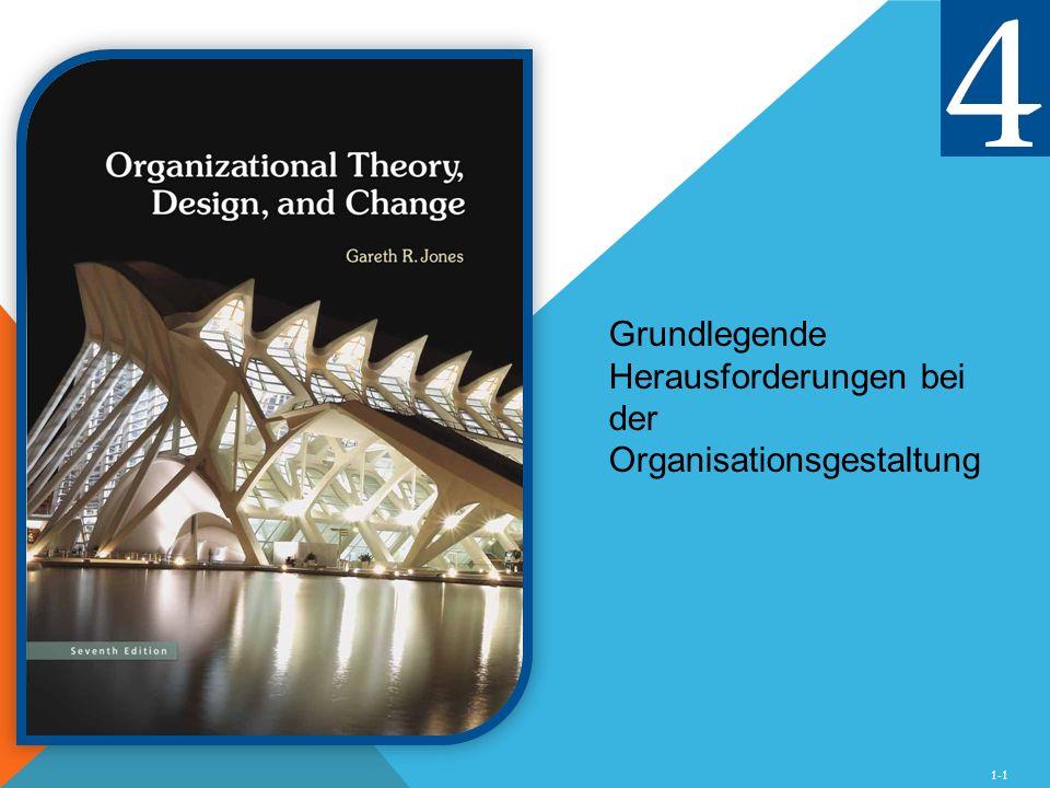 1-1 Grundlegende Herausforderungen bei der Organisationsgestaltung