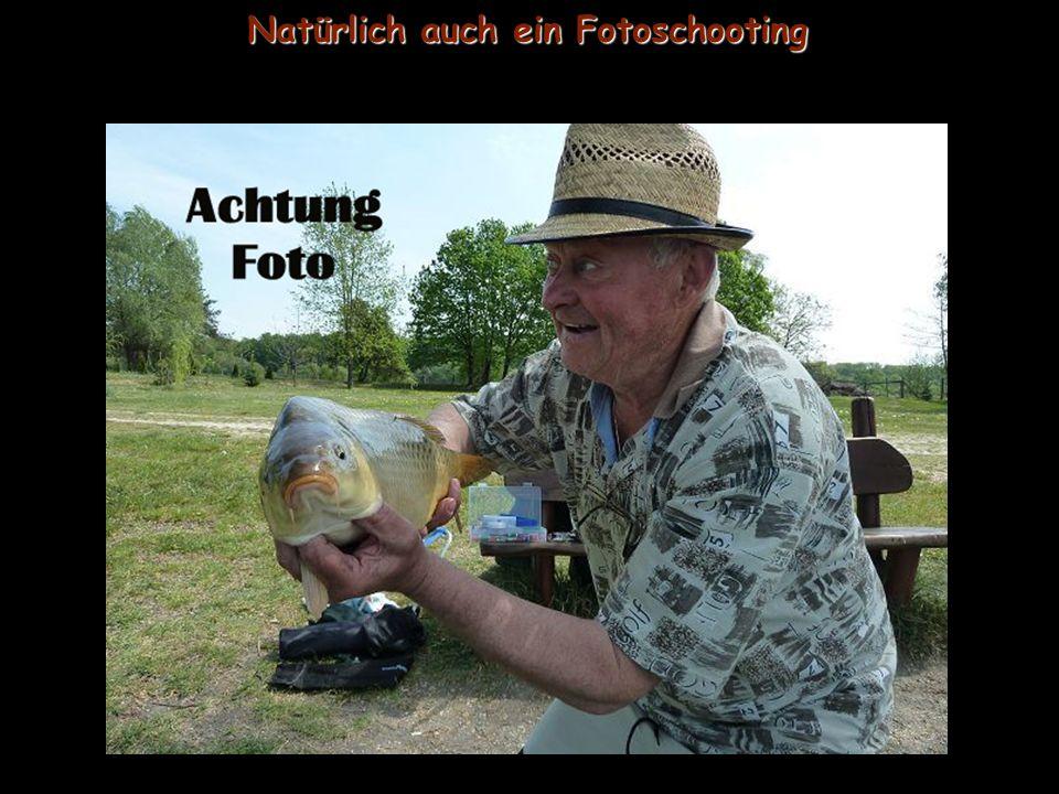 Auch bei mir landen die Fische!