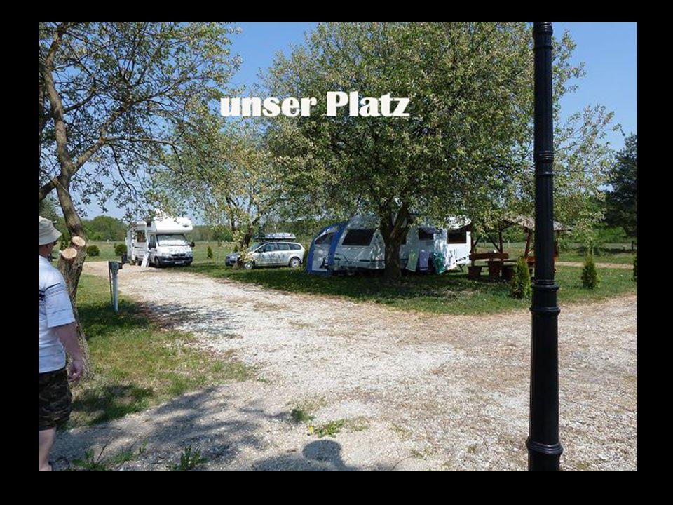Der Campingplatz am Teich.......sehr günstig im Preis